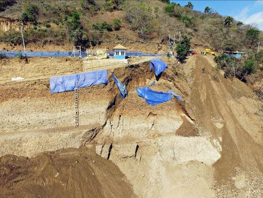Slope Failure Analysis to Restore and Increase the Slope Stability in Flores,  East Nusa Tenggara